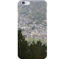 The town of Encamp, Andorra, iPhone Case/Skin