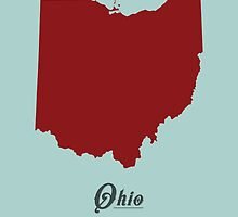 Ohio - States of the Union by Michael Bowman