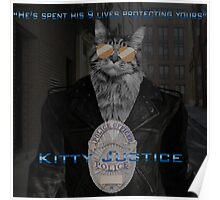 Kitty Justice Poster
