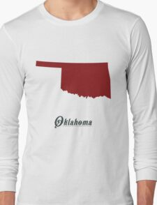 Oklahoma - States of the Union Long Sleeve T-Shirt