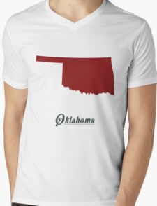 Oklahoma - States of the Union Mens V-Neck T-Shirt