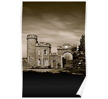 Cluny Castle Poster