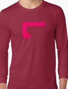 ElementLad - Logo in Pink Long Sleeve T-Shirt
