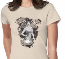 Corseted! Womens Fitted T-Shirt