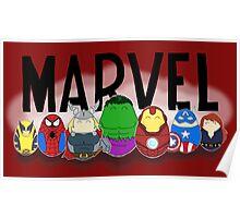 Marvel Tiggles Poster