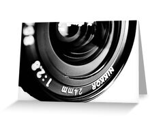 Nikkor 24mm f2.8 Greeting Card