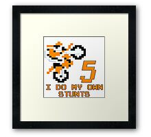 rd5ebstunts Framed Print