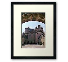 Castle Fraser Framed Print