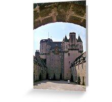 Castle Fraser Greeting Card