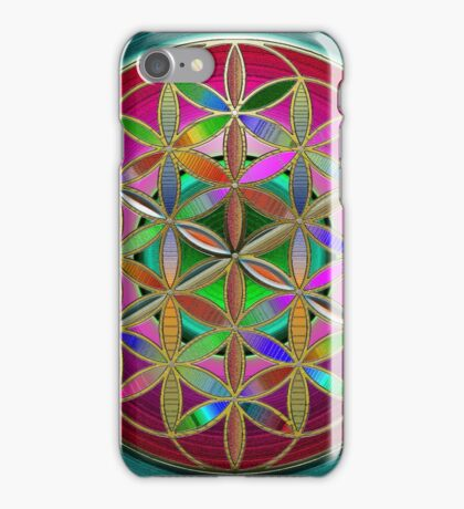 The Flower of Living Metal iPhone Case/Skin