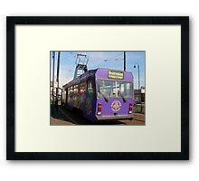 Fleetwood Tram Framed Print