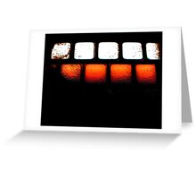 Keyboard incognitio 2 Greeting Card