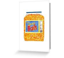 Utz Cheese Balls Greeting Card