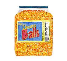 Utz Cheese Balls Photographic Print