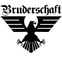 Brotherhood Eagle (Bruderschaft Bundesadler) - Black/Schwartz Photographic Print
