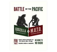 Battle of the Pacific Art Print