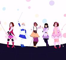 Puella Weeby Holy Quintet by notyourdealer