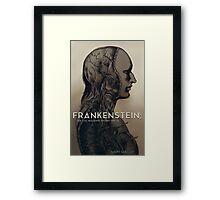 Frankenstein; or the Modern Prometheus Framed Print