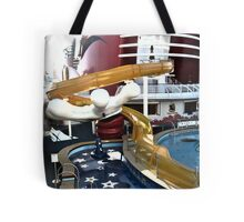 Water Slide Hold by Hand Tote Bag