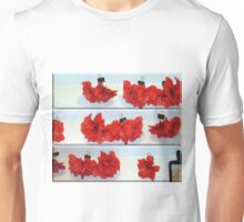Drying Hibiscus and the Cheese Grater Unisex T-Shirt
