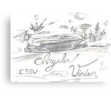 Chrysler Hover Windsor Canvas Print