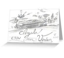 Chrysler Hover Windsor Greeting Card