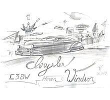 Chrysler Hover Windsor Photographic Print