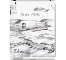 Dodge Hover Royal Custom iPad Case/Skin