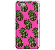 PINEAPPLES [PINK] iPhone Case/Skin