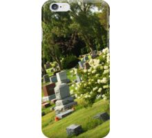 Cemetery Angola Indiana, iPhone Case/Skin