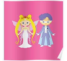 Neo Queen Serenity and King Endymion Poster