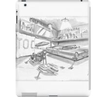 Lincoln et BMW HoverRacer iPad Case/Skin