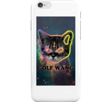 Spaced out kitty iPhone Case/Skin