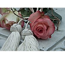 Roses and Tassels Photographic Print