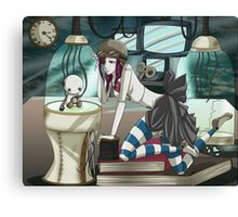 Clockwork Doll  Canvas Print