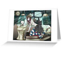 Clockwork Doll  Greeting Card