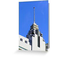 Art deco building Greeting Card