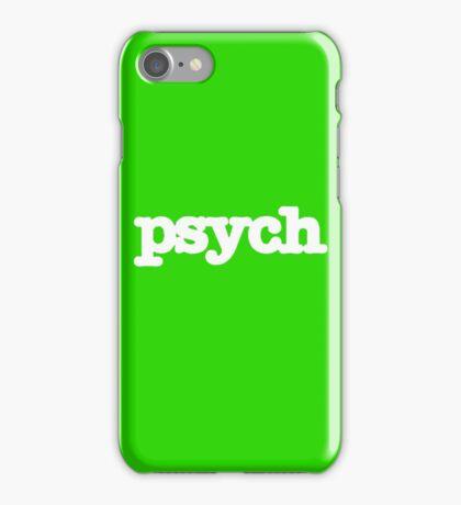 Psych Logo iPhone Case/Skin