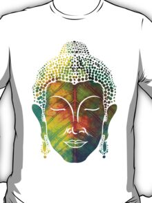 Buddha on pipal leaf T-Shirt