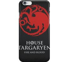 House Targaryen iPhone Case/Skin