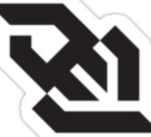 Geometric Logo Sticker