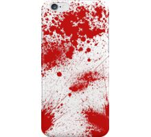 Blood Splatter iPhone Case/Skin