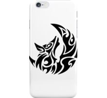 Wolf Geometric tattoo style iPhone Case/Skin