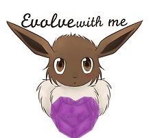 Eeveelutionary Hearts - Mystery by AngaelWing