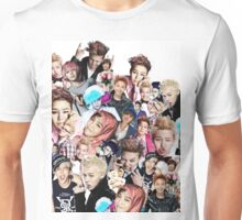 The many faces of G-Dragon Unisex T-Shirt
