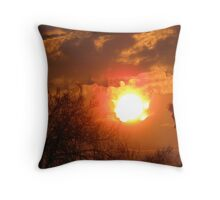 A Bright Shining Sun Throw Pillow