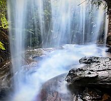 Behind the Falls by Annette Blattman