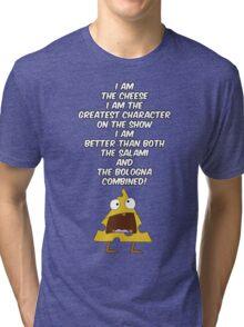 I am the cheese Tri-blend T-Shirt