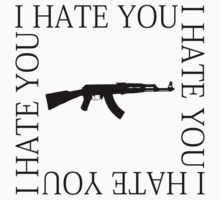 I HATE YOU by VIOLENTSOUL