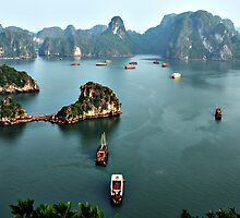 Halong Bay, Vietnam by DJ Church